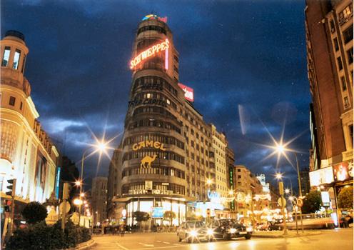 عــاصمة اسبـانيا (( مدريد)) Gran_via_1