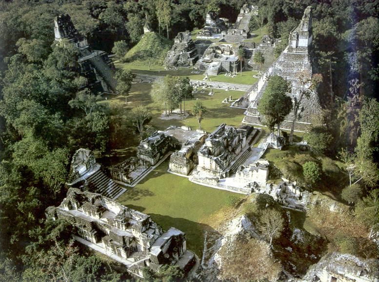 La ciudad maya mas grande,Tikal